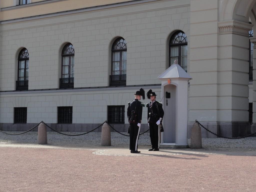 Wachwechsel am Palast
