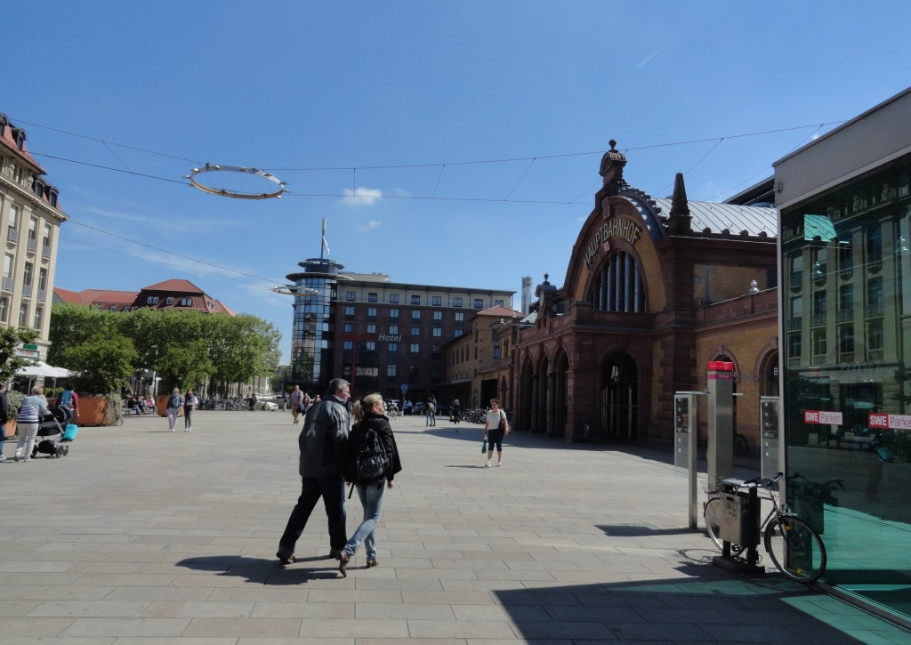 Hauptbahnhof von Erfurt