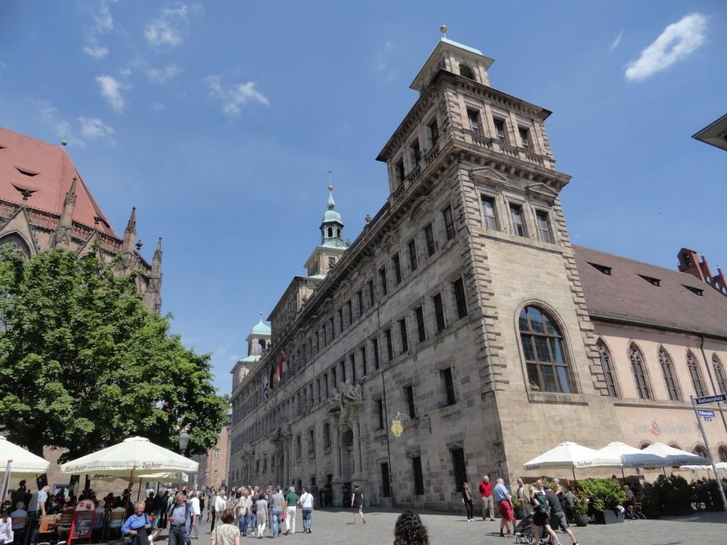 Blick auf das Alte Rathaus