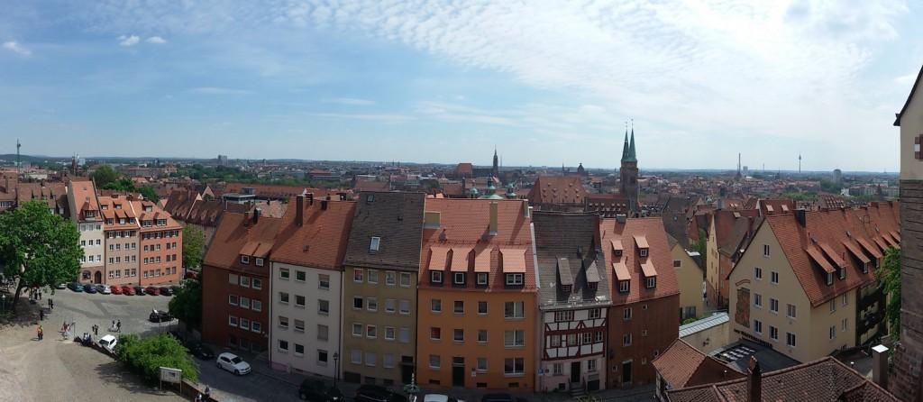 Panorama von der Kaiserburg aus