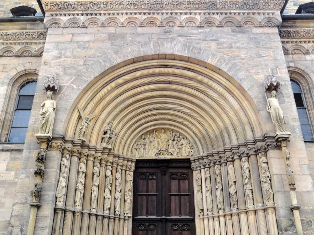 Tor des Bamberg Doms