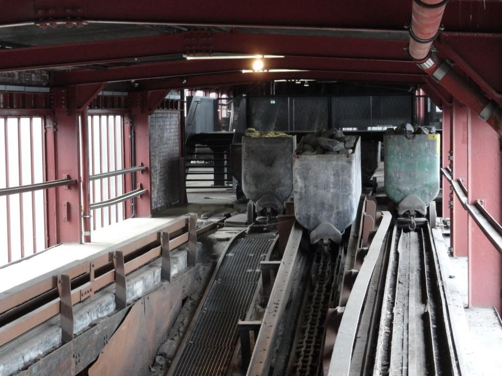 Zeche Zollverein - Kohleförderung