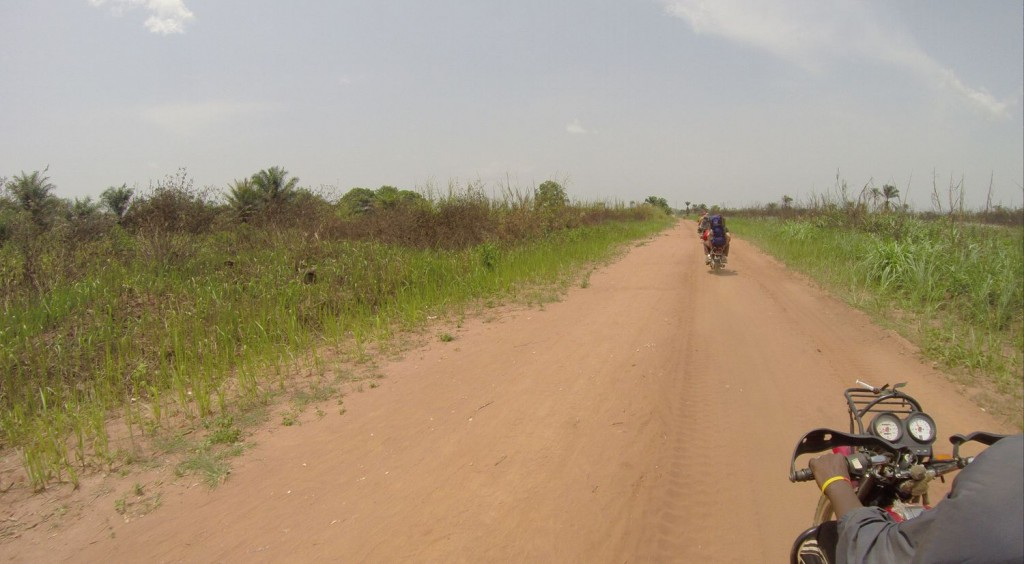 Good roads of northern Congo