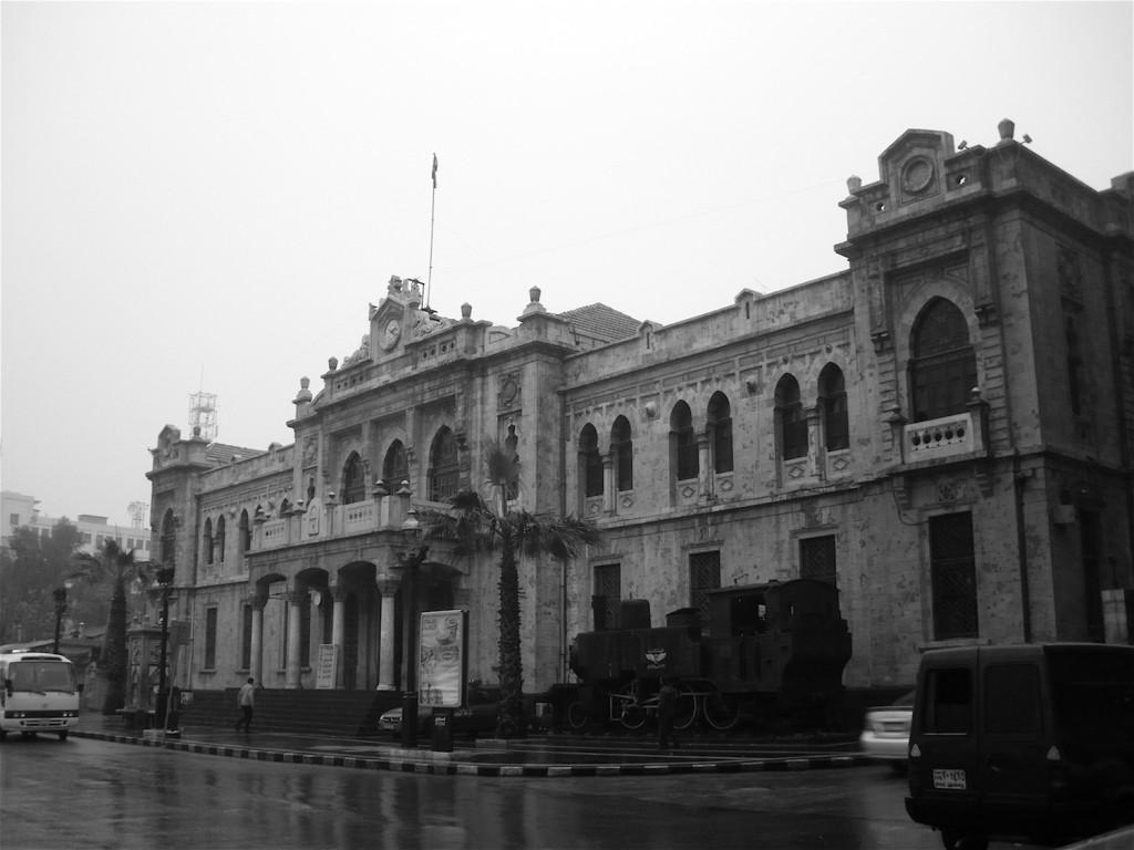 Alter Bahnhof von Damaskus