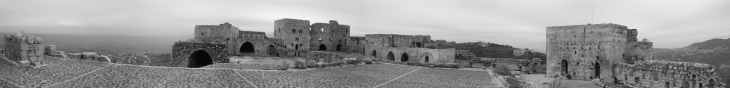 Panorama des Krak des Chevaliers