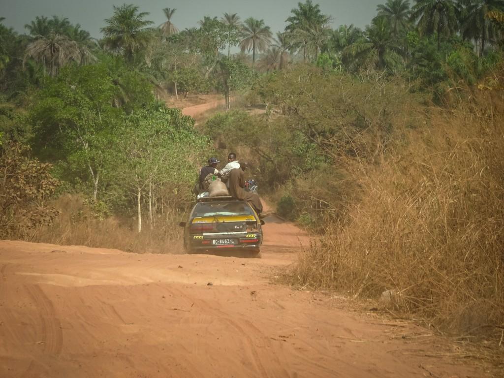Taxi auf der Piste