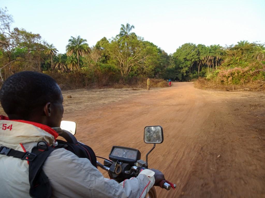 Unterwegs mit dem Motorrad