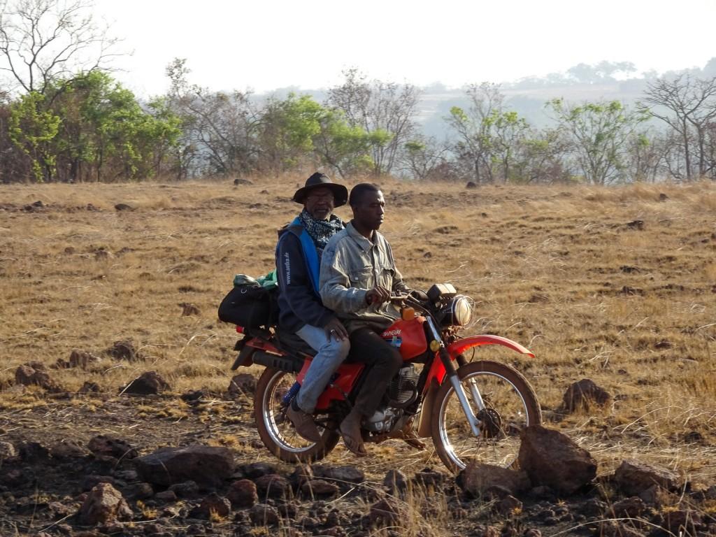 Amadou unterwegs