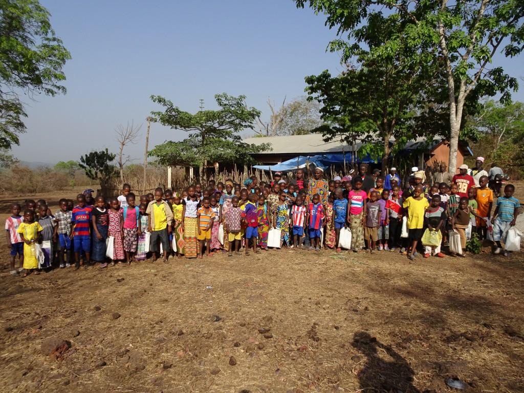 Schüler der Grundschule in Tianguel-Kene