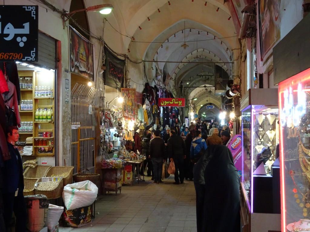 Bazaar von Kashan