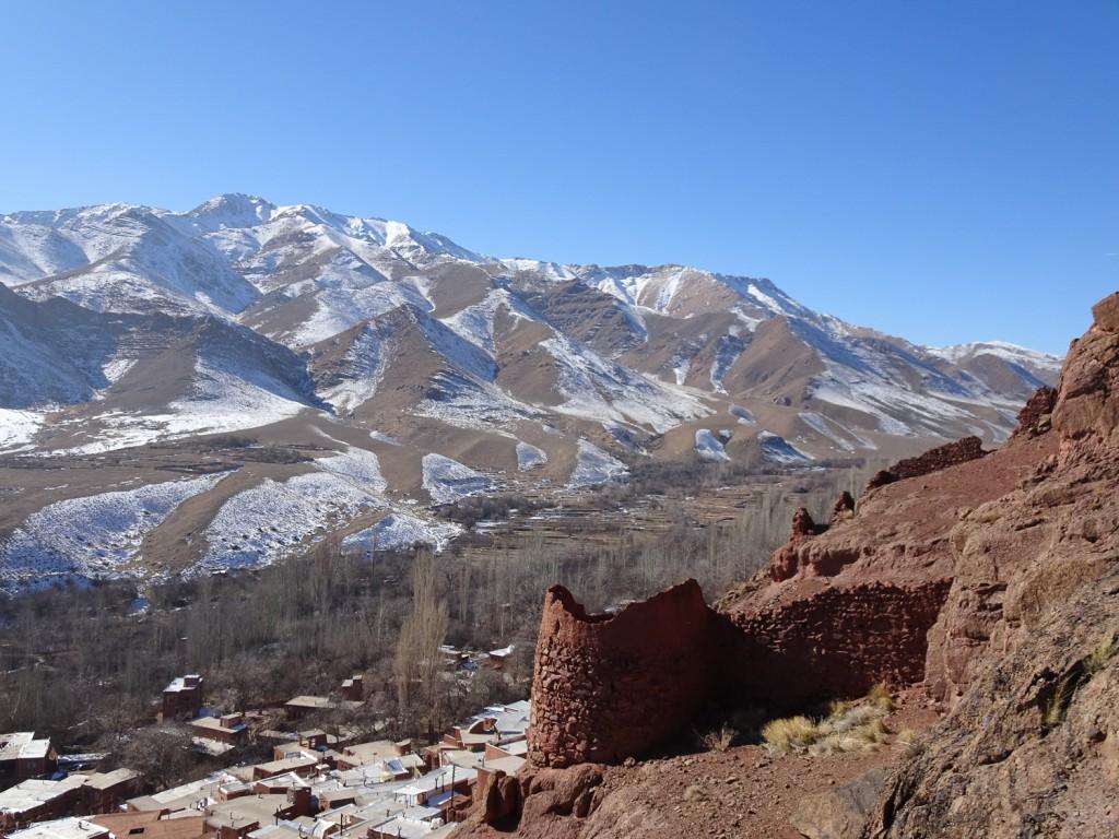 Festung über Abyaneh