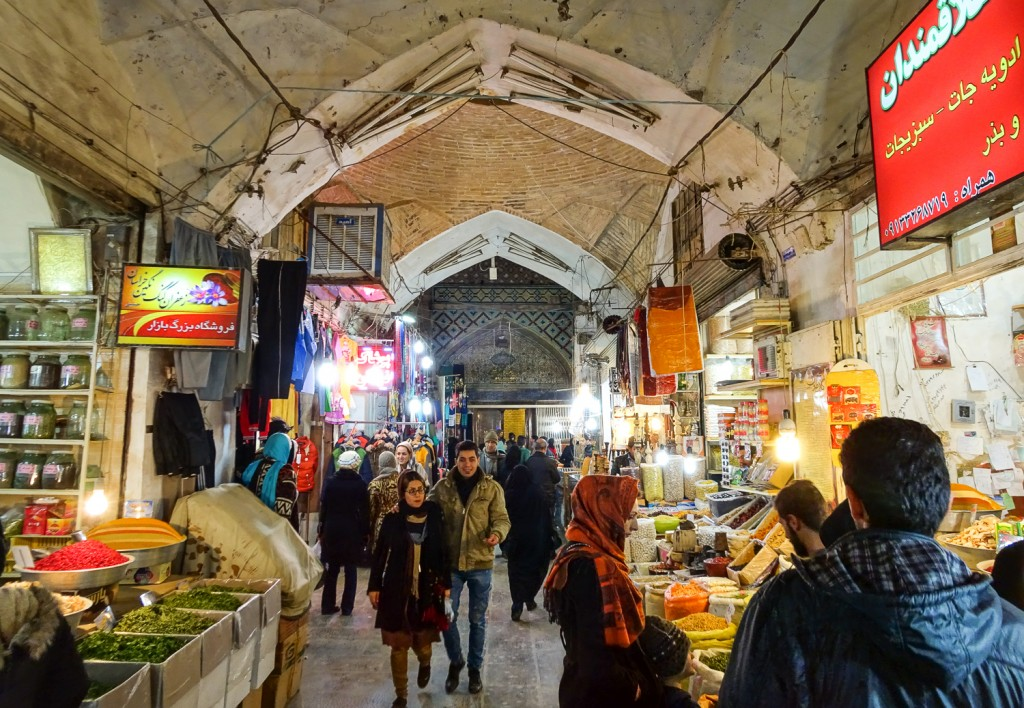 Bazaar von Isfahan