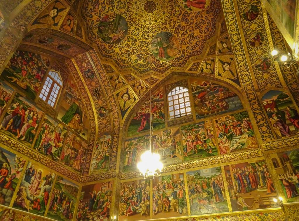 Wandmalereien in der Wank-Kathedrale