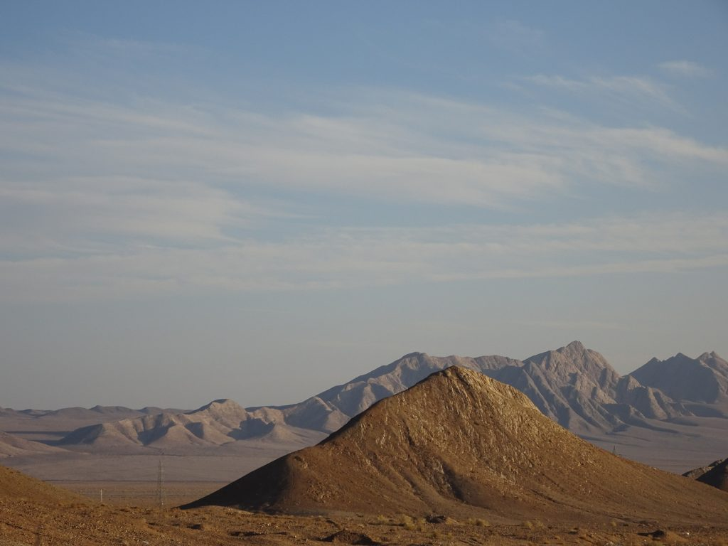 Landschaft der Kavir Wüste