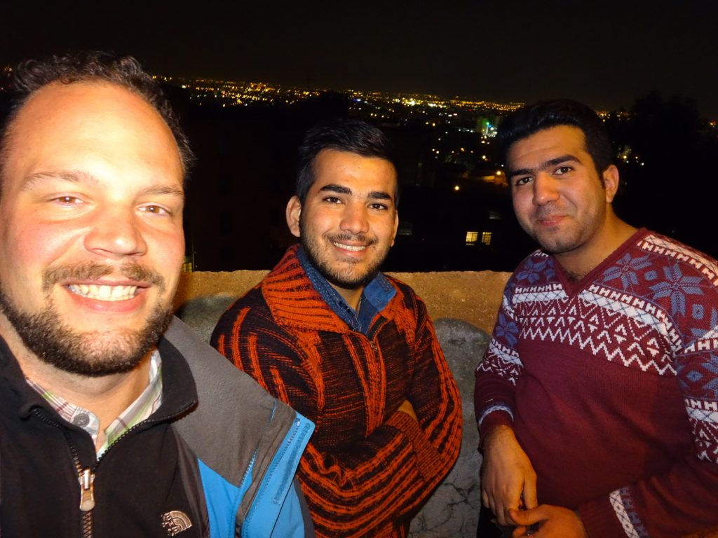 Ahmed und Reza