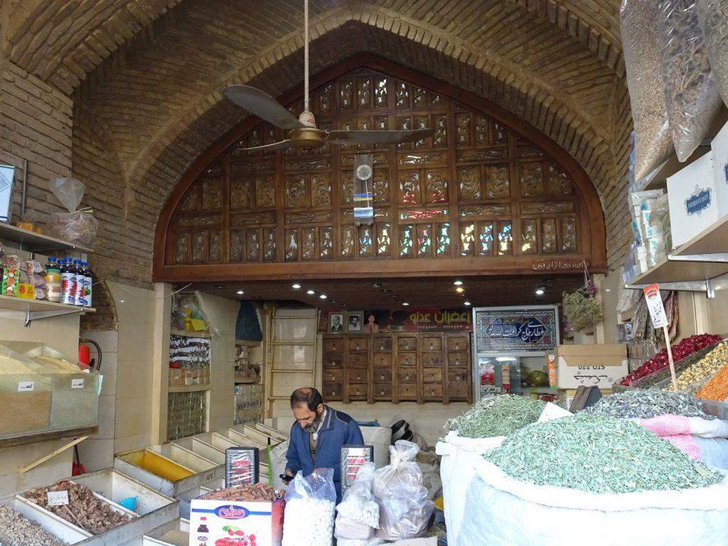 Gewürzladen am Bazaar Vakil