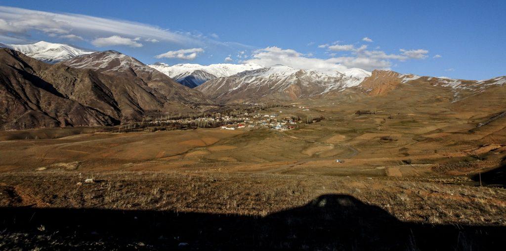 Kurz nach dem Pass von Qazvin nach Alamut Valley