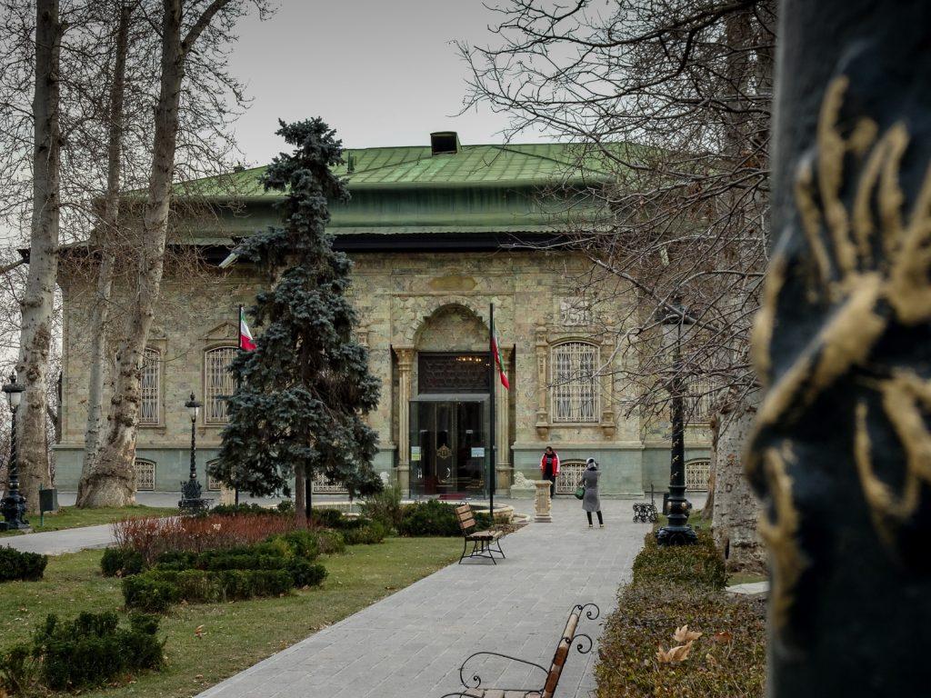 Grüner Palast im Saadabad-Areal