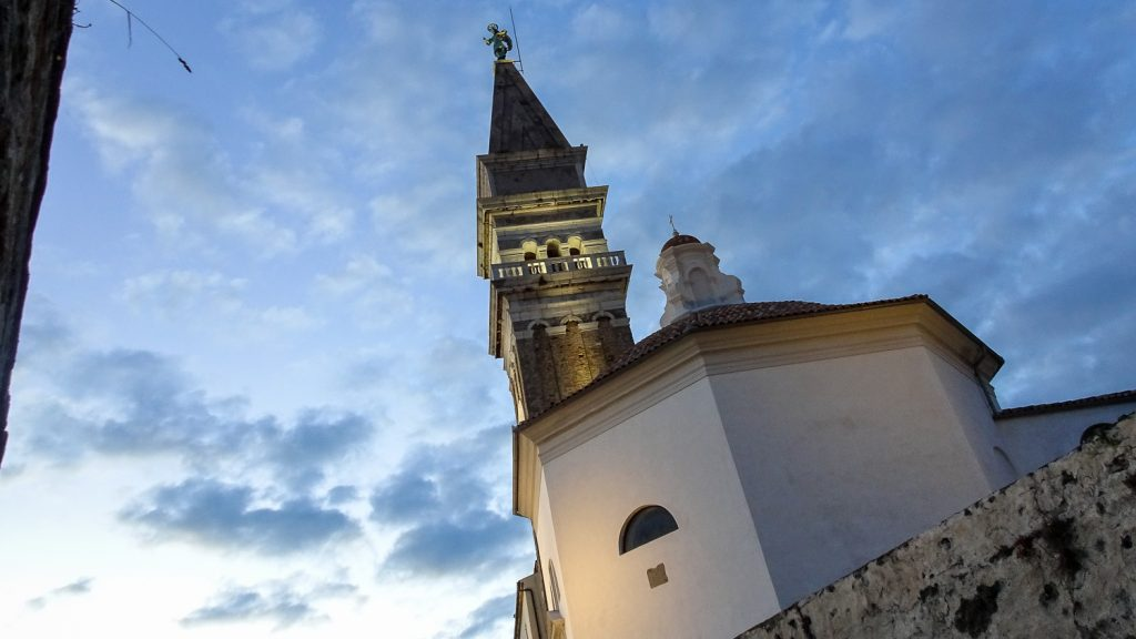 Kirche St. George in Piran