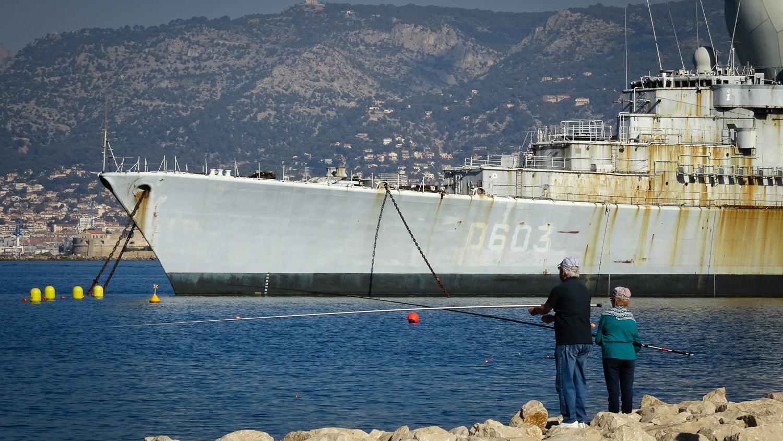 Angler bei Toulon