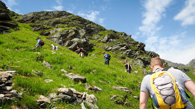 Wanderung zur Niederelbehütte