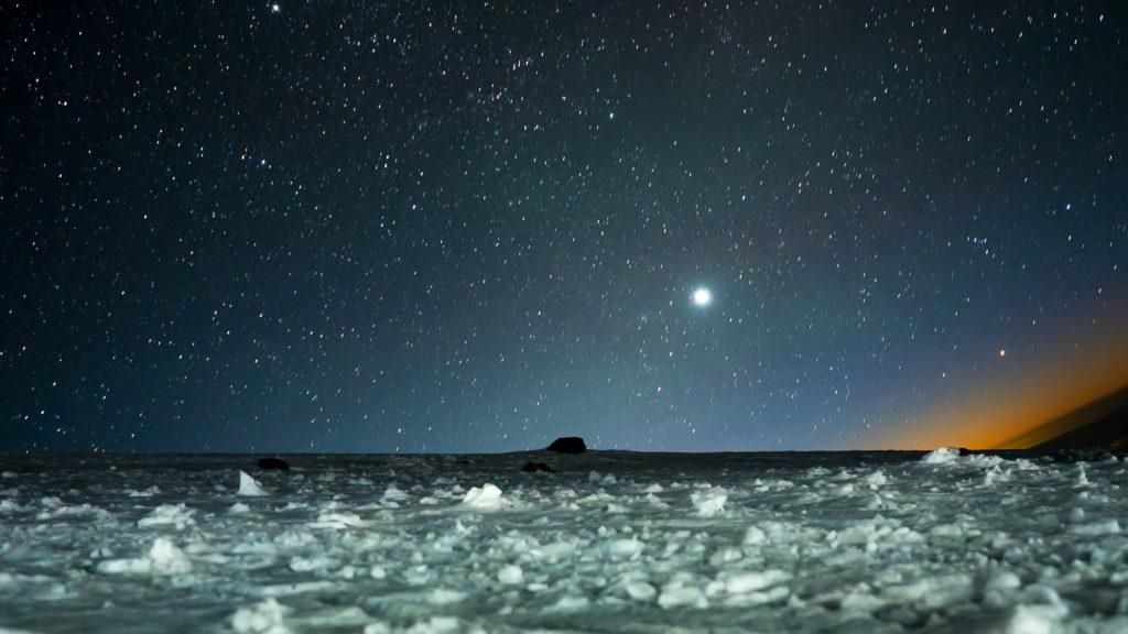Nachthimmel am Elbrus
