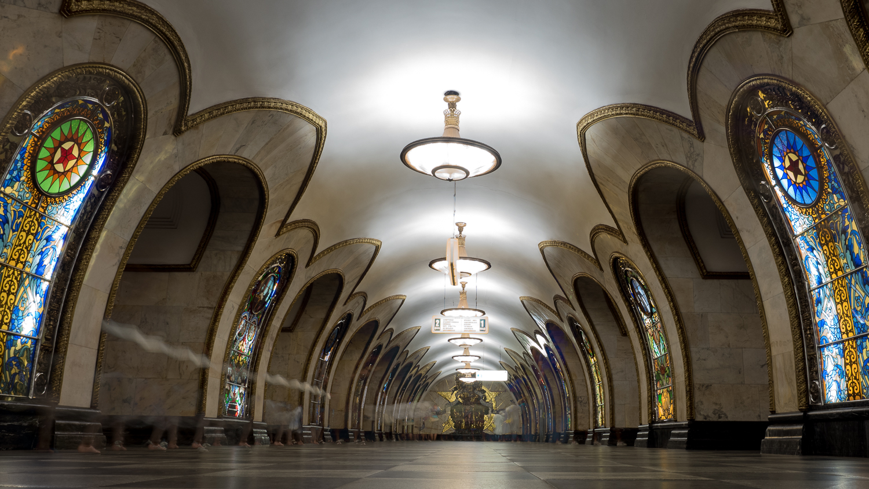 U-Bahnstation Moskau