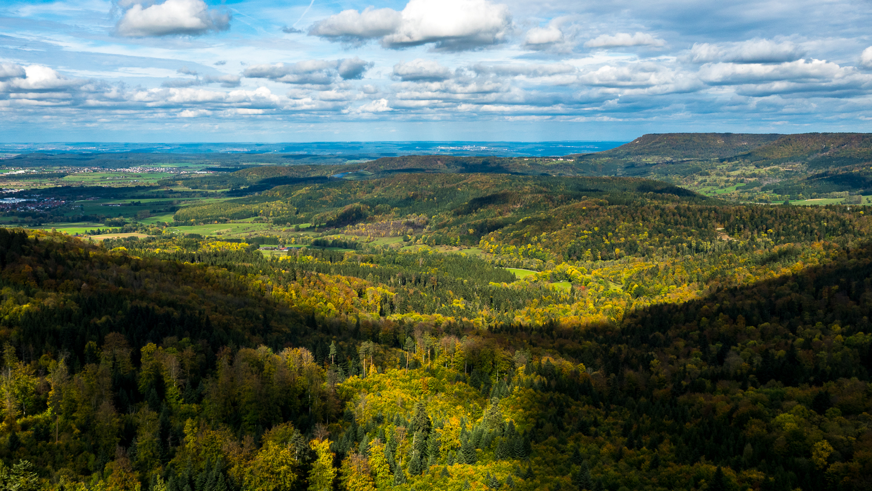 Sonne und Wolken - Herbstliche Ausblicke