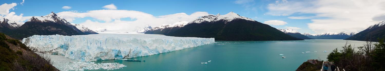 Panorama / Perito Moreno Gletscher