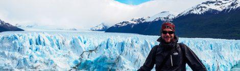 Dominik am Perito Moreno Gletscher