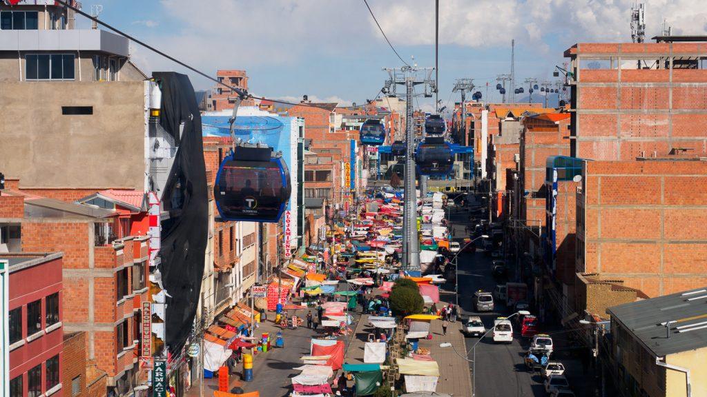 El Alto von oben