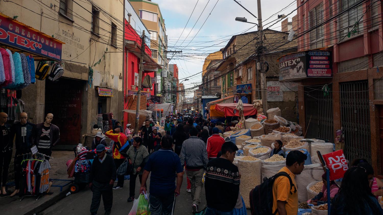Straßen von La Paz