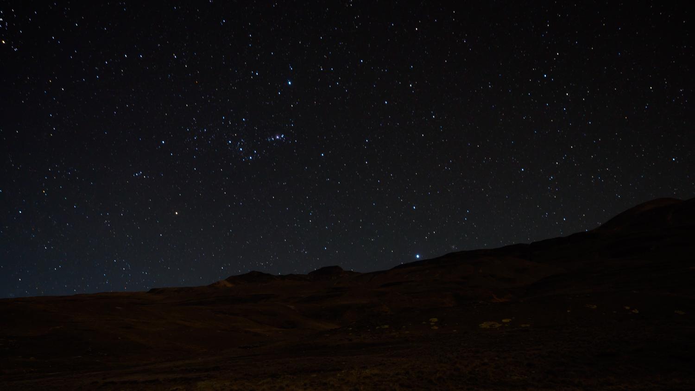 Sternenhimmel auf dem Hampaturi Trek