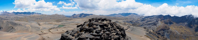 Blick über den Cumbre Pass