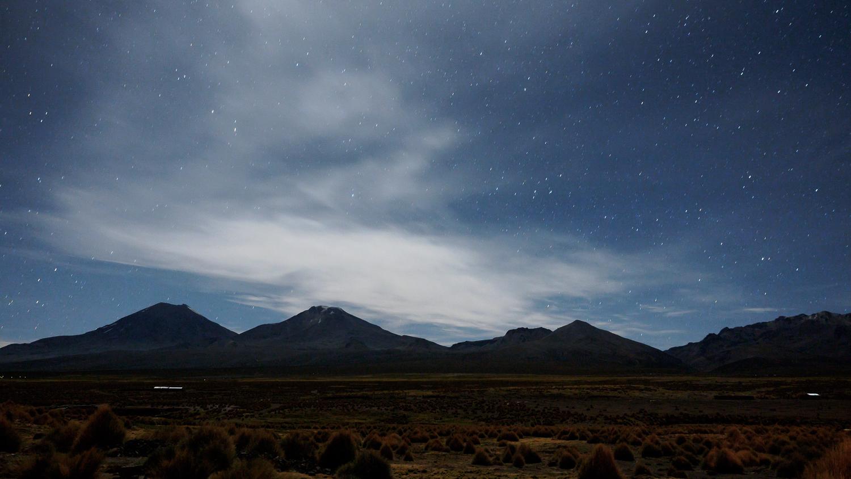 Sternenhimmel von Sajama