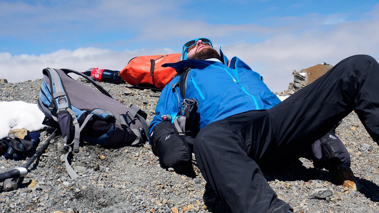 Gipfel vom Parinacota