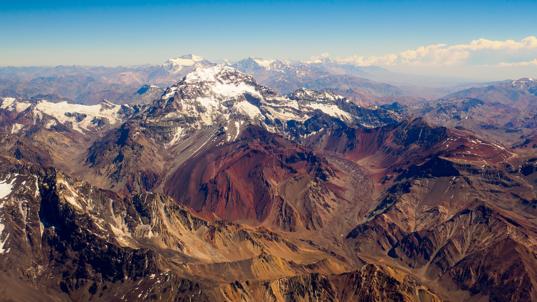 Aconcagua aus der Luft