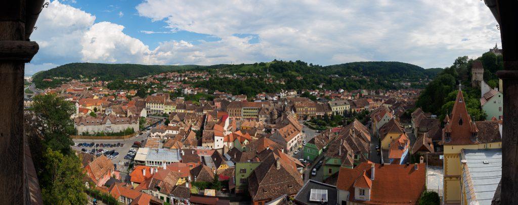 Schäßburg Stadtansicht