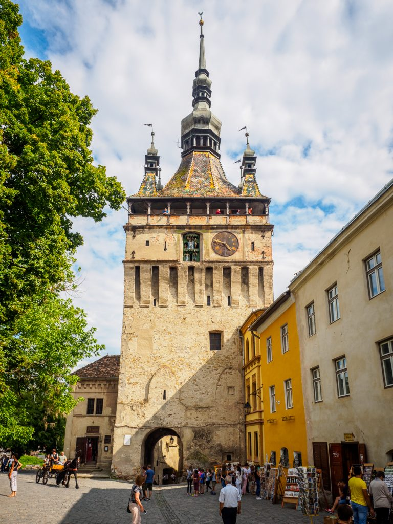 Stundturm in Schäßburg