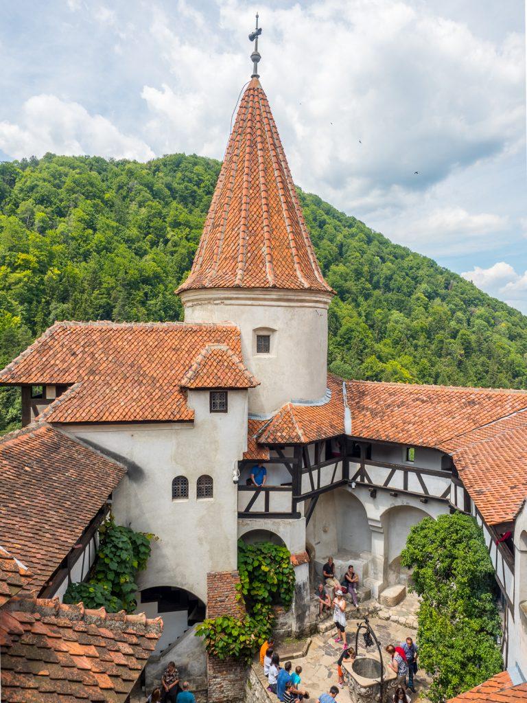 Draculaschloss Bran Innenhof
