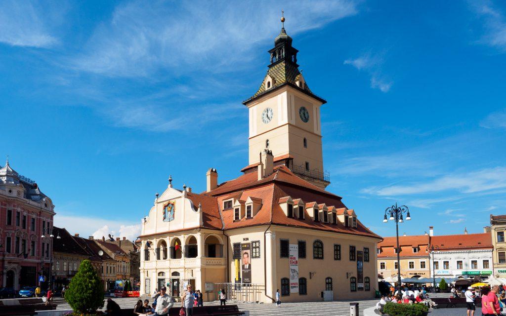 Rathaus von Brașov