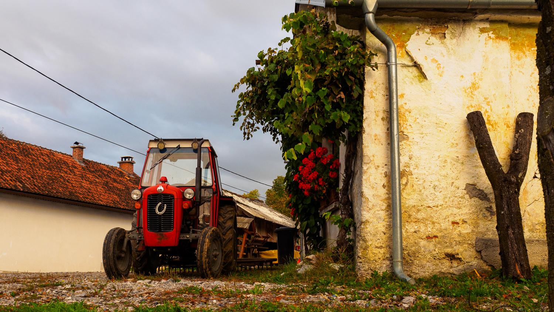Bauernhof in Prestranek