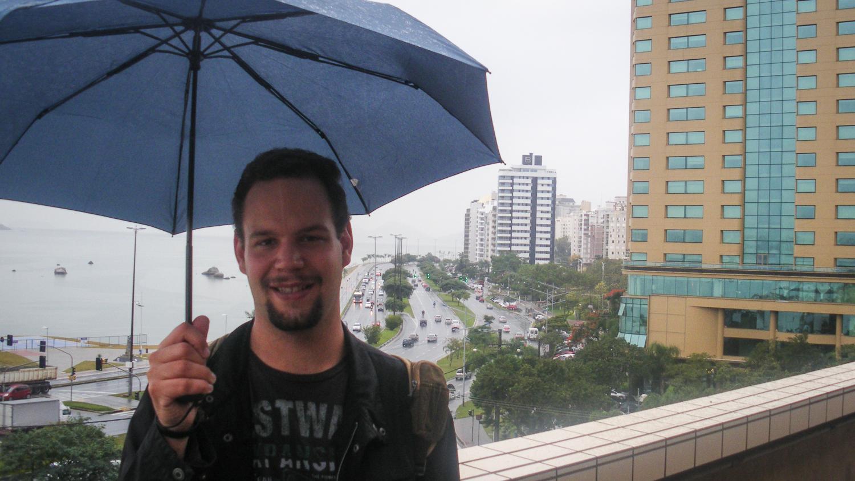 Regen in Florianópolis