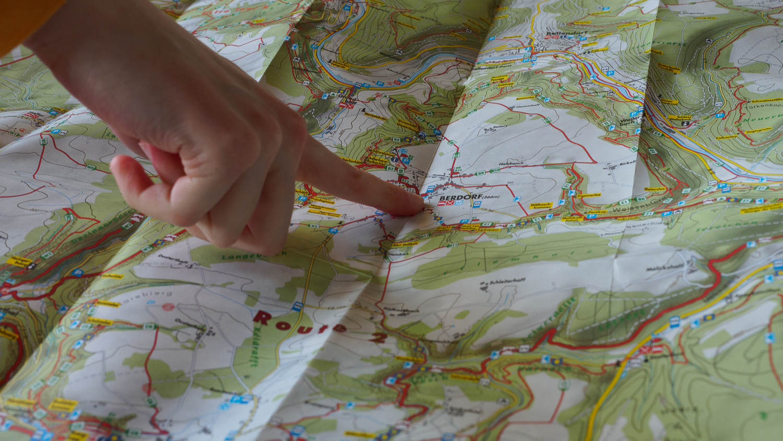 Karte vom Trail