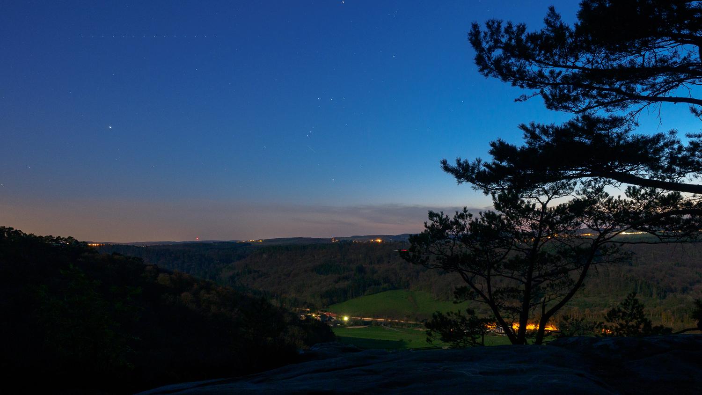 Nachthimmel über Berdorf