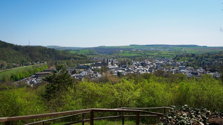 Blick über Echternach