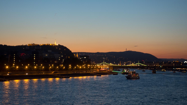 Géllertberg in Budapest