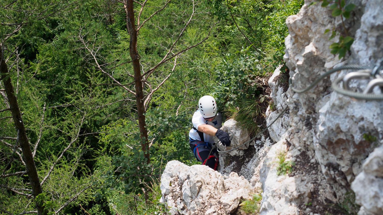 Klettersteig Mojstrana