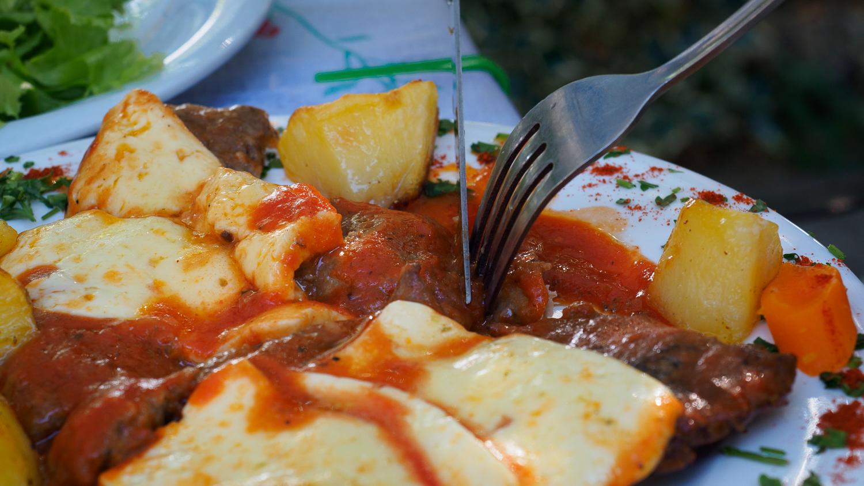 Essen in Albanien