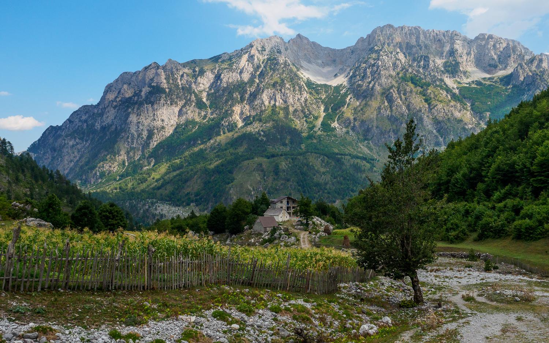 Albanische Alpen in Valbona